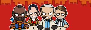 Team tekstschrijvers centraal