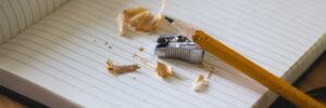 tekstschrijver-potlood